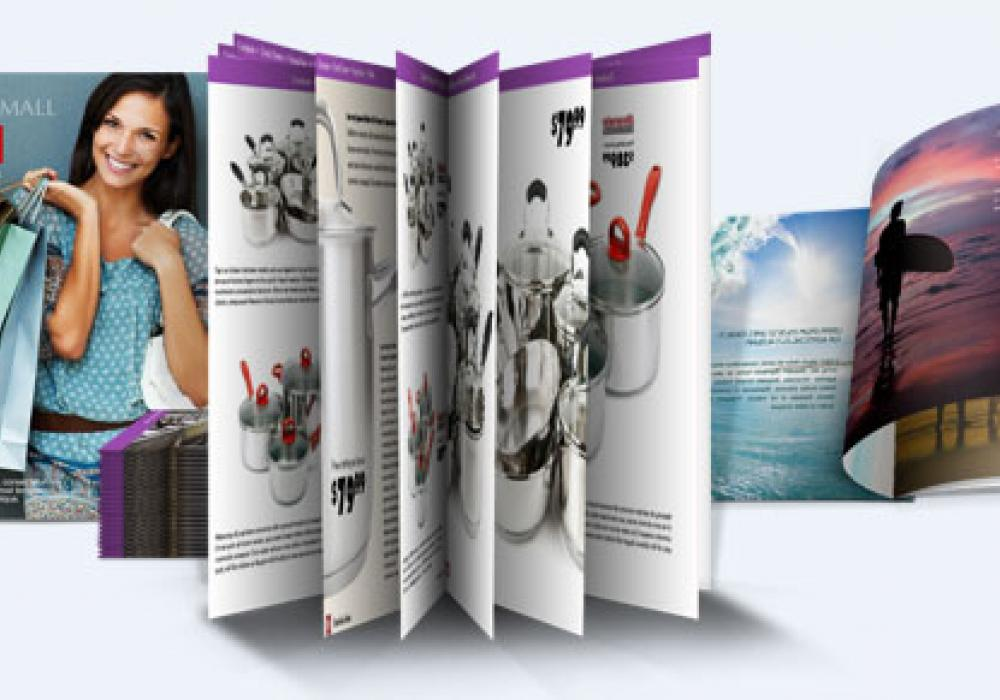 Flyere, brosuri, cataloage si mape de prezentare