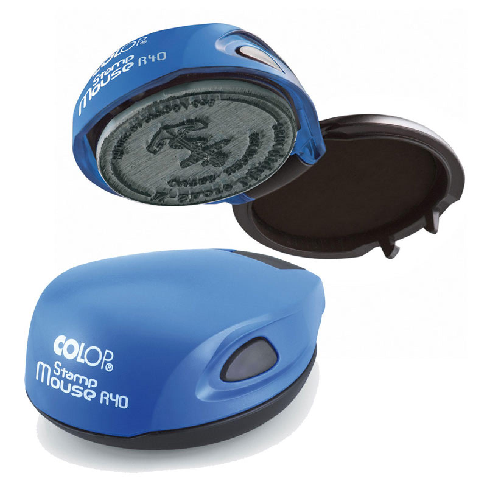 Stampila rotunda mouse R40